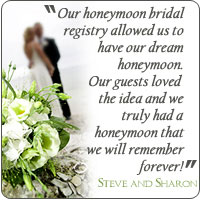 Register your Honeymoon Registry